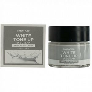 LEBELAGE Крем для области вокруг глаз, выравнивающий тон кожи, White Tone Up Eye Cream 70 мл.