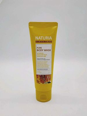 Гель для душа c экстрактом меда  Naturia Pure Body Wash Honey&White Lily  100 мл.
