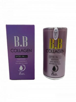 ВВ крем с коллагеном для лица Ekel Collagen Pump  BB Cream (21) 50 мл.